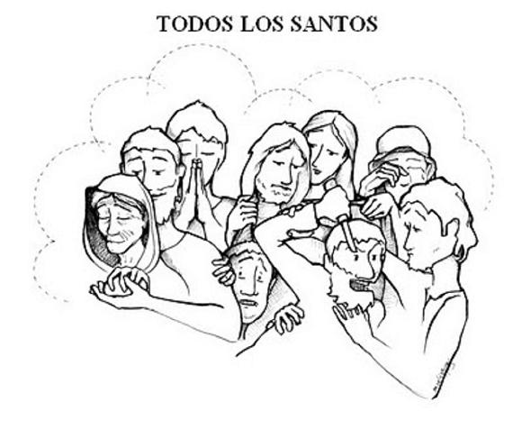Solemnidad de Todos los Santos: Recursos (gráficos, imágenes, videos ...