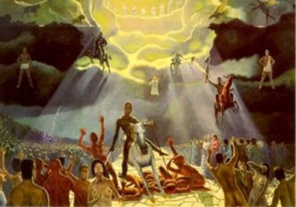 LOS SIETE SELLOS: 6,1-8,1 en 'EL APOCALIPSIS, REVELACIÓN DE LA GLORIA DEL  CORDERO'