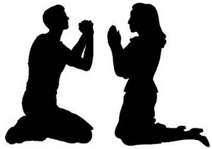 Resultado de imagen para Diez pasos para orar en pareja