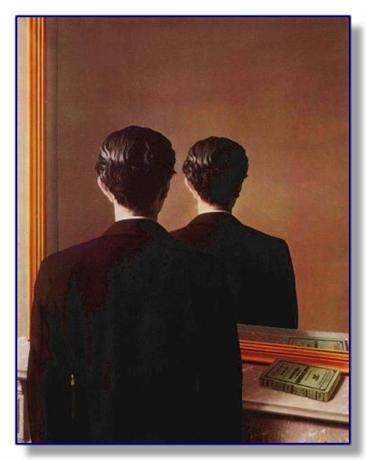 El que se mira sólo a sí mismo no se contempla realmente
