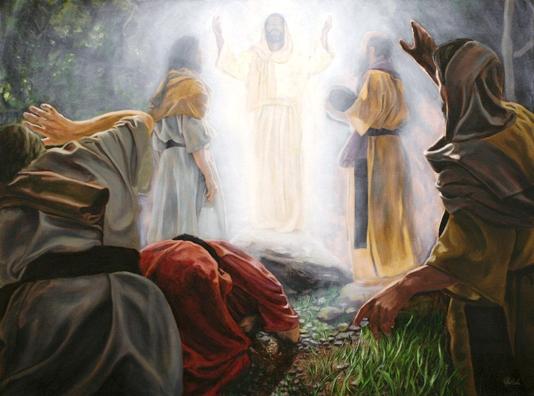 Transfiguración de Jesús en le monte Tabor